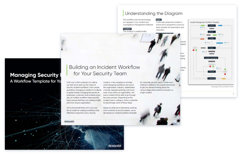 Incident Workflow e-book and template for security teams